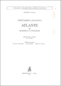Vallini , Cristina - De Meo , Anna (1997) Orientamenti Linguistici. Atlante di materiali e citazioni. [Materiale didattico]